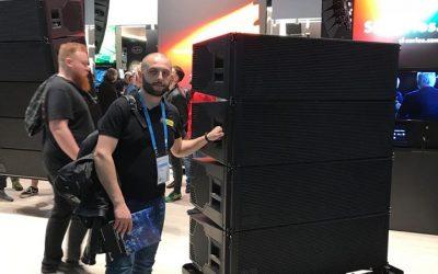 d&b audiotechnik на Prolight&sound 2018 у Франкфурті